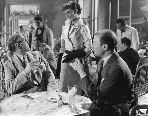Alec Guinness, Audrey Hepburn