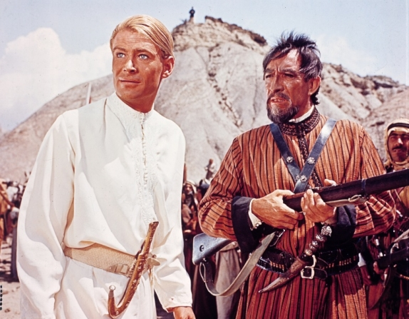 Peter O'Toole, Anthony Quinn