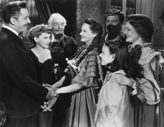 Leon Ames, Judy Garland, Lucille Bremer, Mary Astor, Harry Davenport