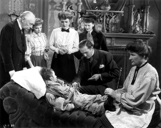 Harry Davenport, Judy Garland, Mary Astor, Lucille Bremer, Marjorie Main, Margaret O'Brien