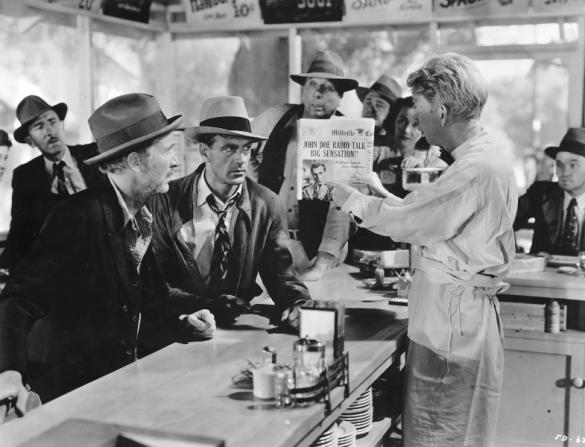 Walter Brennan, Gary Cooper, Sterling Holloway