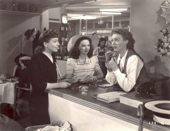 Joan Crawford, Ann Blyth, Eve Arden