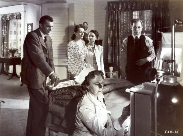 Bruce Bennett, Joan Crawford, Ann Blyth