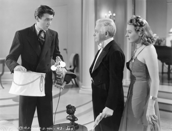 James Stewart, Claude Rains, Astrid Allwyn