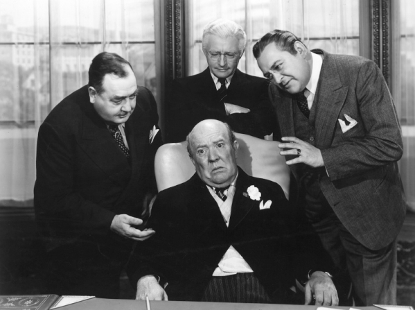 Eugene Pallette, Claude Rains, Edward Arnold, Guy Kibbee