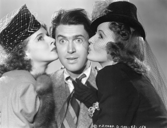 Dorothy Comingore, James Stewart, Frances Gifford