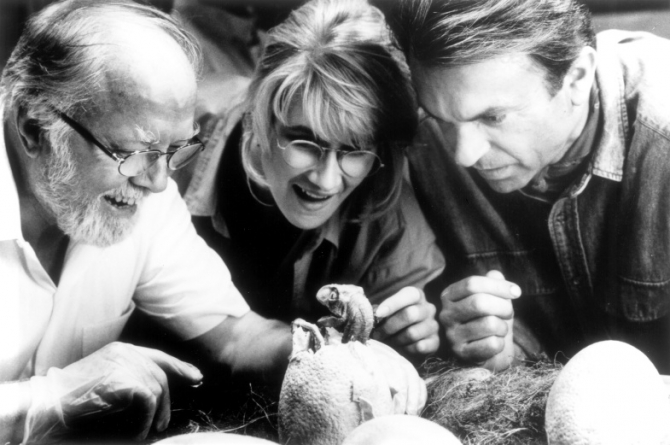 Richard Attenborough, Laura Dern, Sam Neill