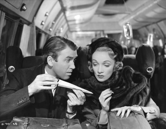 James Stewart, Marlene Dietrich
