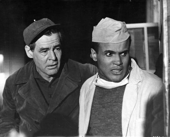Robert Ryan, Harry Belafonte