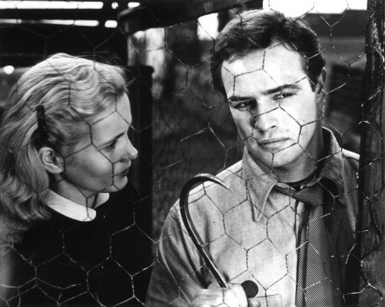 Eva Marie Saint, Marlon Brando