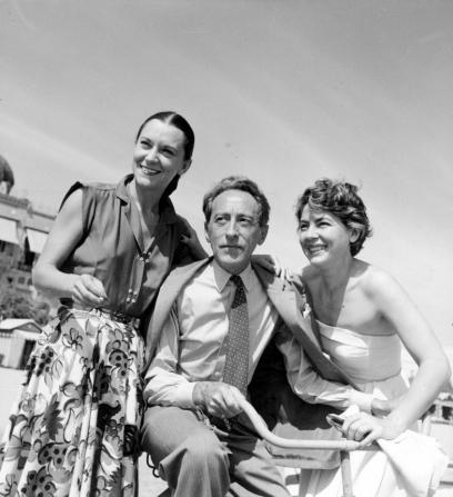 Maria Casarès, Jean Cocteau, Marie Déa