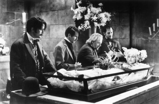 Anthony Hopkins, Sadie Frost, Billy Campbell, Cary Elwes, Richard E. Grant