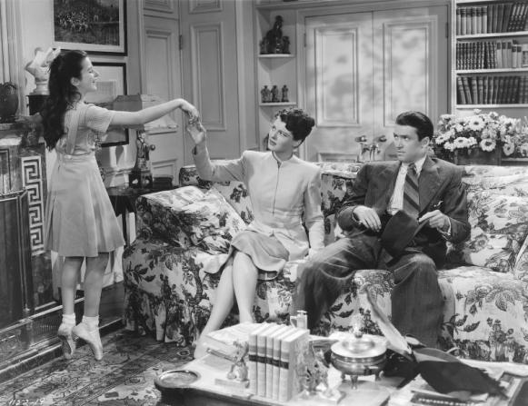 Virginia Weidler, Ruth Hussey, James Stewart