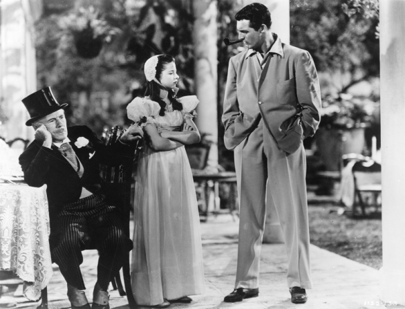 Roland Young, Virginia Weidler, Cary Grant