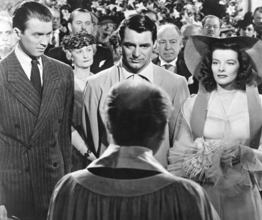 James Stewart, Cary Grant, Katharine Hepburn