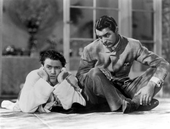 James Stewart, Cary Grant