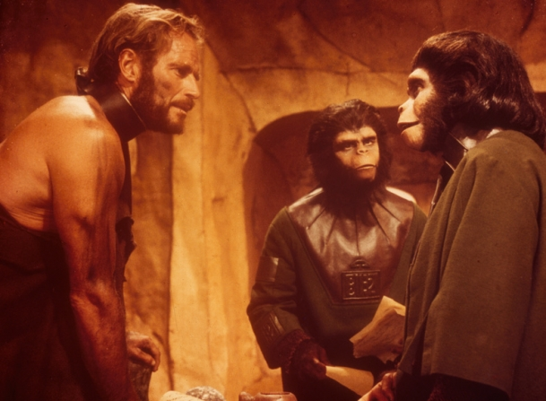 Charlton Heston, Roddy McDowall, Kim Hunter