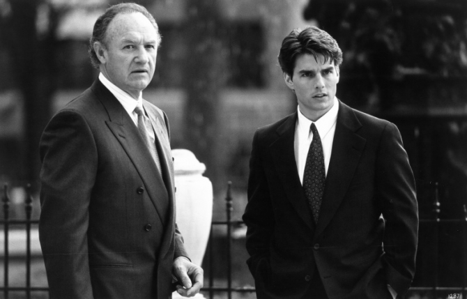 Tom Cruise, Gene Hackman