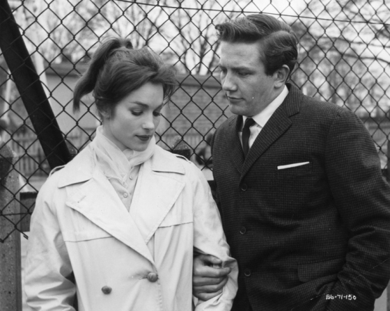 Shirley Anne Field, Albert Finney