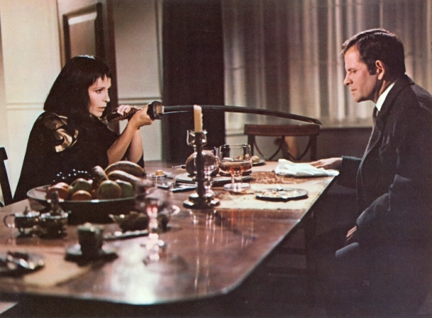 Claire Bloom, Ian Holm
