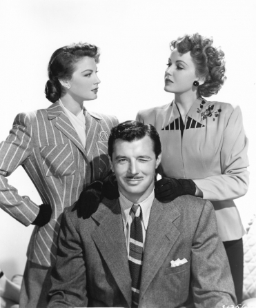 Frances Gifford, James Craig, Ava Gardner