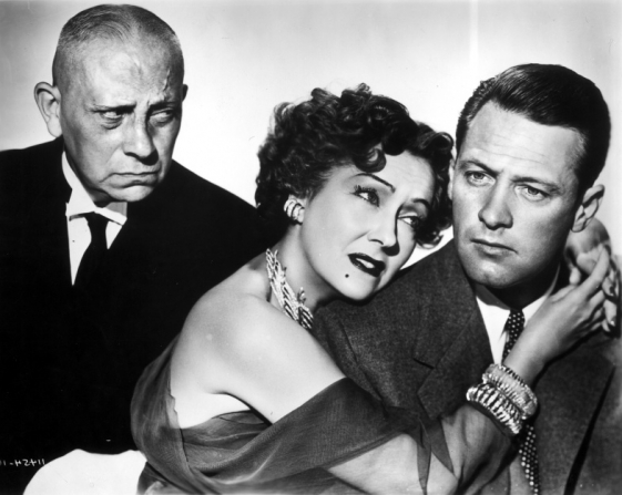 Erich von Stroheim, Gloria Swanson, William Holden