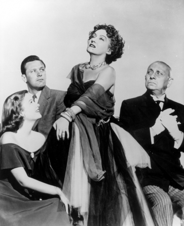 Nancy Olson, William Holden, Gloria Swanson, Erich von Stroheim