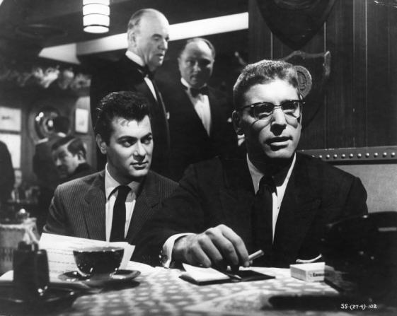 Tony Curtis, Burt Lancaster