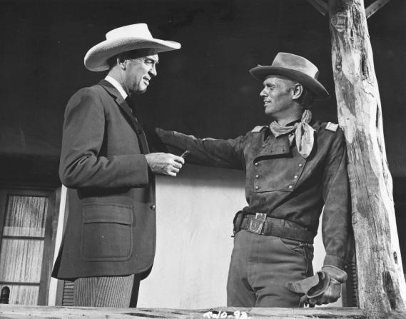 James Stewart, Richard Widmark