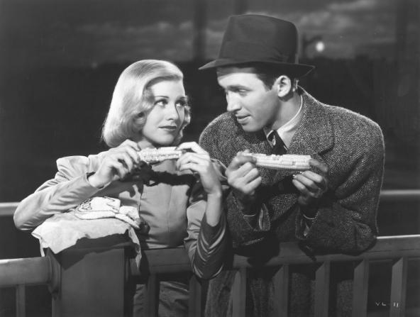 Ginger Rogers, James Stewart
