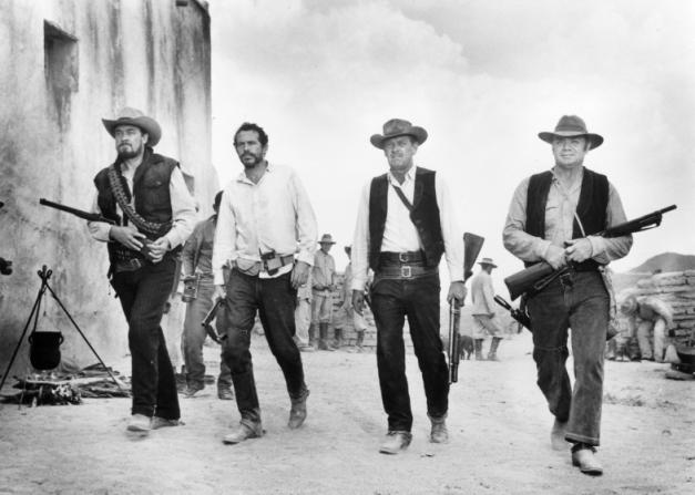 Ben Johnson, Warren Oates, William Holden, Ernest Borgnine