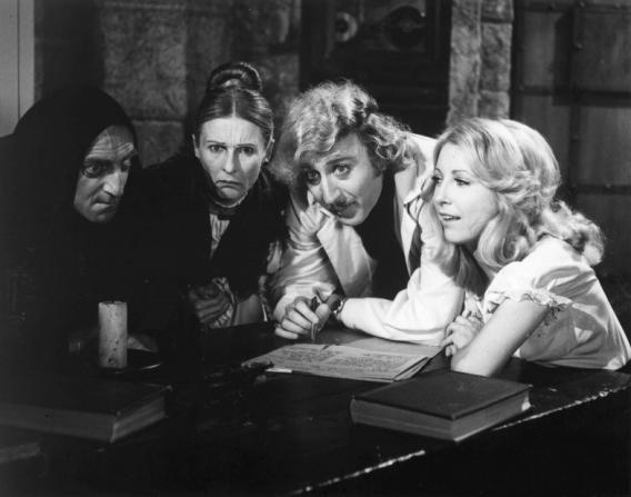 Gene Wilder, Marty Feldman, Teri Garr