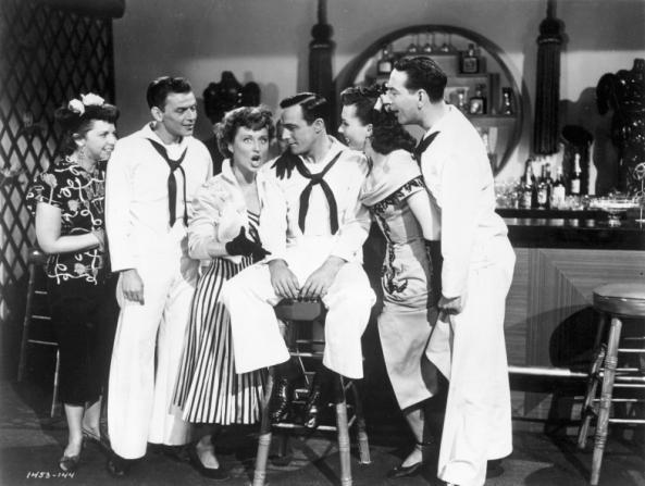 Frank Sinatra, Gene Kelly, Ann Miller, Alice Pearce