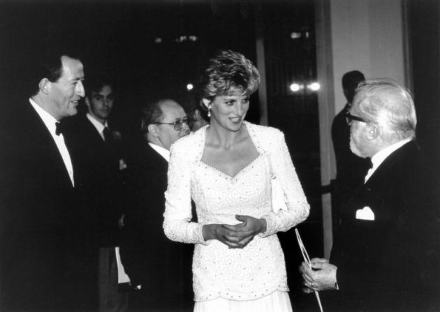 Wilf Stevenson, Princess of Wales Diana, Richard Attenborough