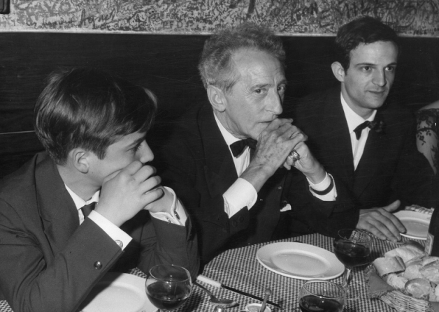 François Truffaut, Jean-Pierre Léaud, Jean Cocteau