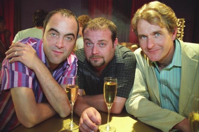 James Nesbitt, John Thomson, Robert Bathurst