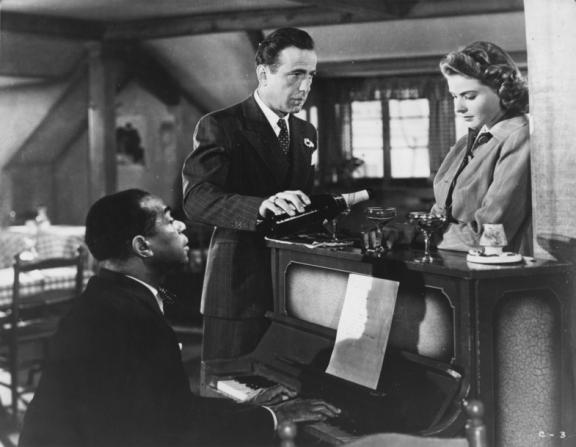 Dooley Wilson, Humphrey Bogart, Ingrid Bergman