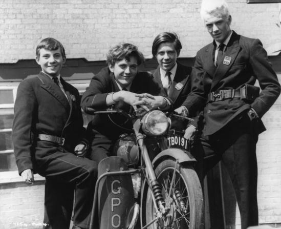 Steve Marriott, David Hemmings, John Pike, Heinz Burt