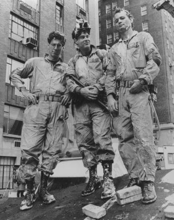 Harold Ramis, Dan Aykroyd, Bill Murray