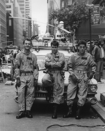 Bill Murray, Dan Aykroyd, Harold Ramis