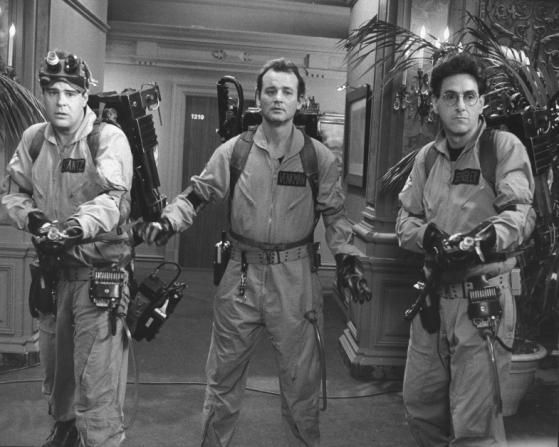 Dan Aykroyd, Bill Murray, Harold Ramis