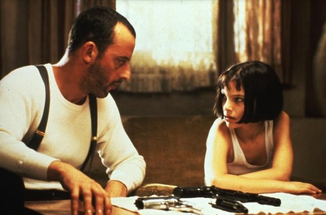 Jean Reno, Natalie Portman