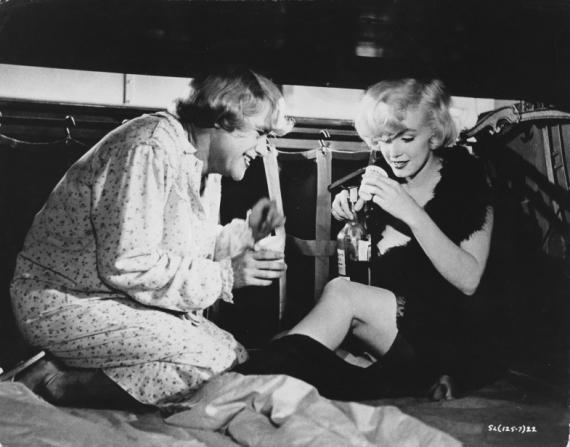 Jack Lemmon, Marilyn Monroe