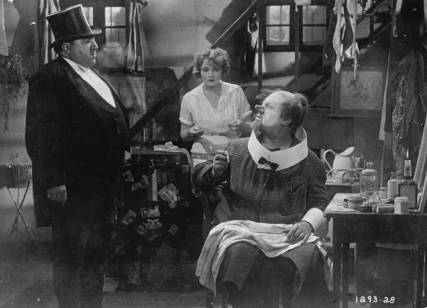 Kurt Gerron, Marlene Dietrich, Emil Jannings