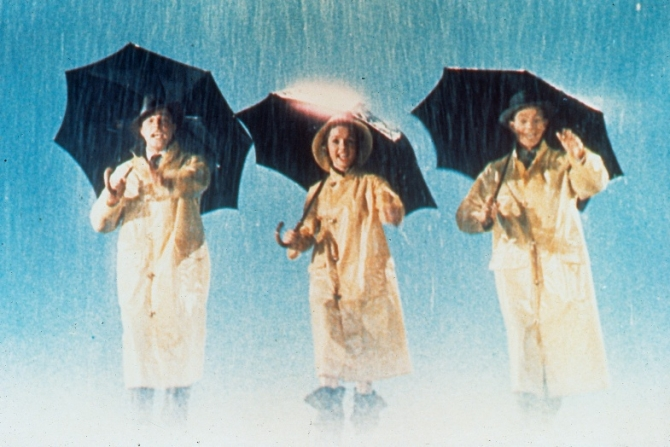 Gene Kelly, Debbie Reynolds, Donald O'Connor