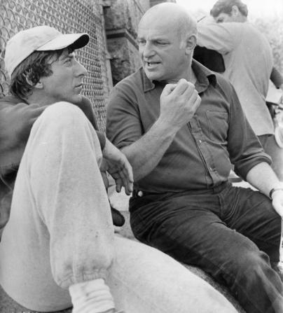 John Schlesinger, Dustin Hoffman