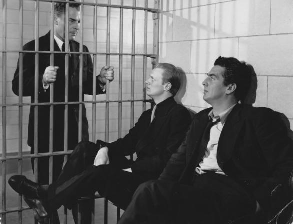 Brian Donlevy, Richard Widmark, Victor Mature