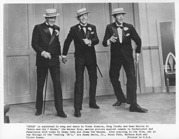 Frank Sinatra, Bing Crosby, Dean Martin