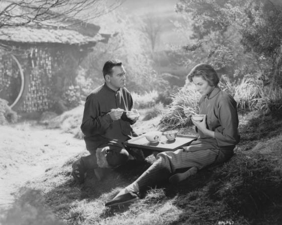 Curd Jürgens, Ingrid Bergman