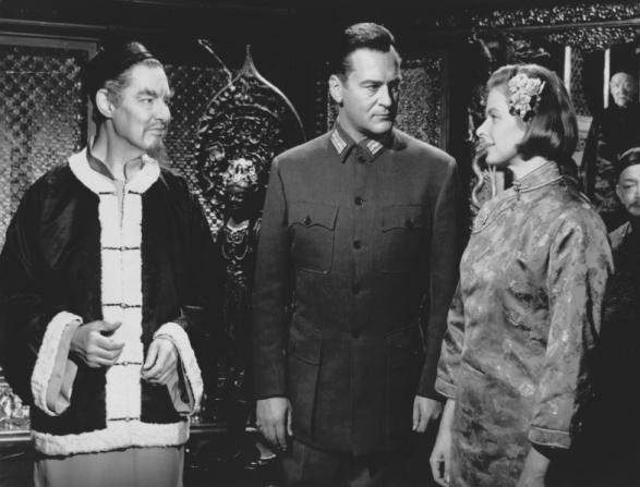 Robert Donat, Curd Jürgens, Ingrid Bergman